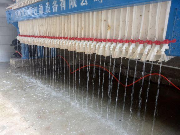 防腐防渗漏密闭式不锈钢压滤机选兴泰过滤