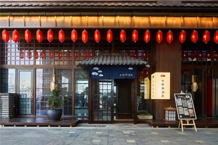 主题餐厅现代日式-方舟居酒屋日式料理,DCV第四维设计提供