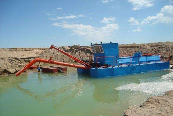 抽沙船|青州市科拓环保设备提供优良的抽砂船