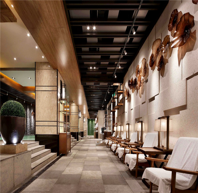 中式休闲酒店装修报价,东南亚风格精品酒店设计