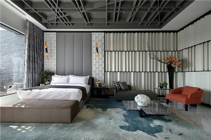 郑州优雅韵味的酒店装修 河南郑州酒店设计多少钱 酒店装修公司