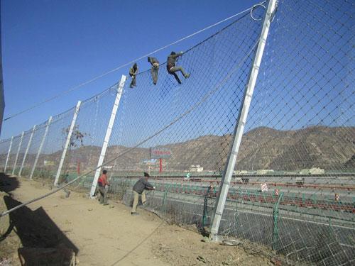 落石拦截环形网完全达标15131856266边坡被动防落网