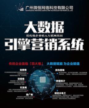 广州市微恒网络科技有限公司- 一物一码系统|网络推广软件|