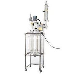双层玻璃反应釜生产厂家-实用的玻璃反应釜行情价格