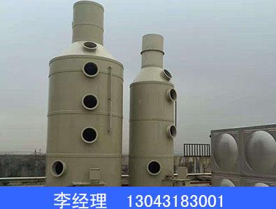 喷淋层脱硫塔厂家制造 金禾环保设备专业生产喷淋层脱硫塔