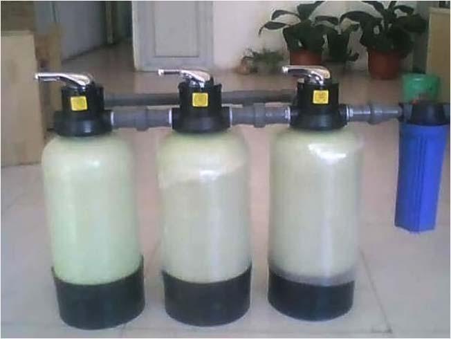 家用小型软水器保护管道防止水垢结块有效降低钙镁离子水处理设备