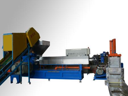 寧波塑料造粒機 雙螺桿擠出造粒機 水環切擠出造粒機