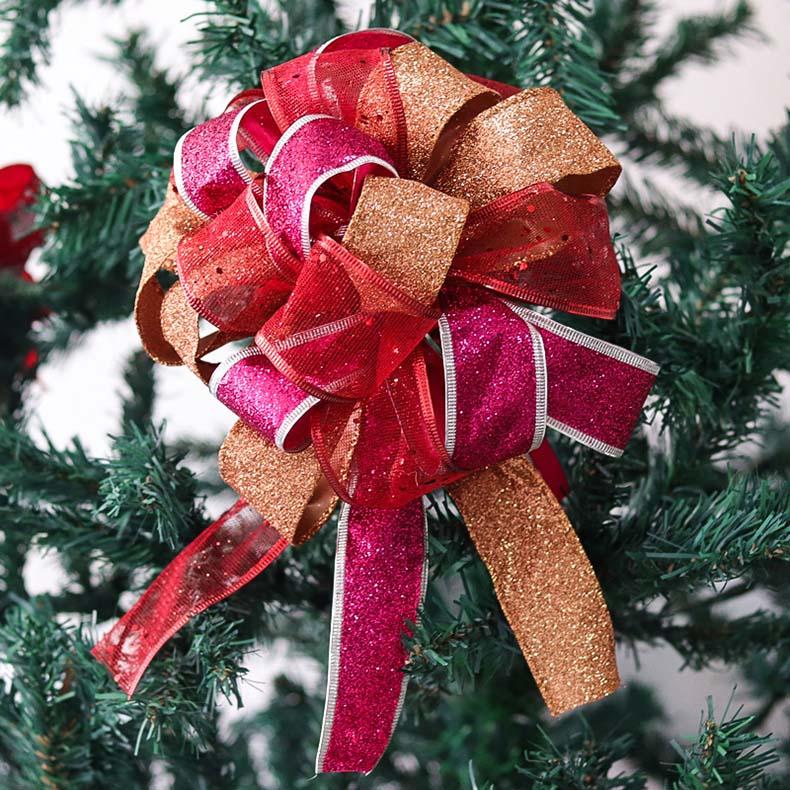 厦门织带厂家新款圣诞花饰上市