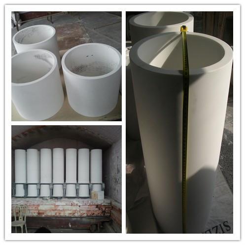 开封氧化铝陶瓷管批发-河南哪家氧化铝陶瓷管厂家规模大