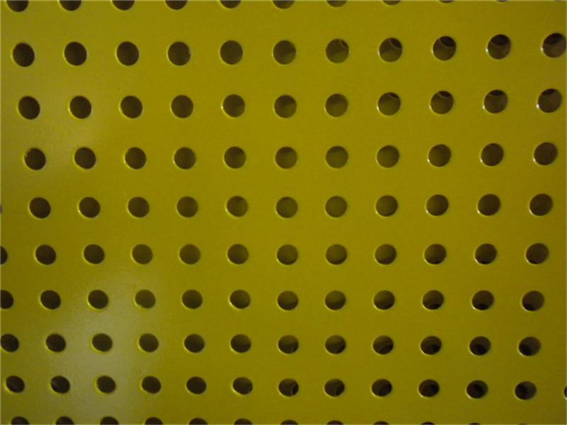 粉末喷涂装饰铝板冲孔板--安平县万诺丝网