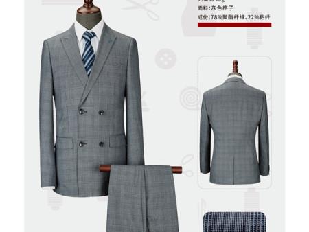 升澜服饰提供好的河南西服定制服务_酒店装定制批发
