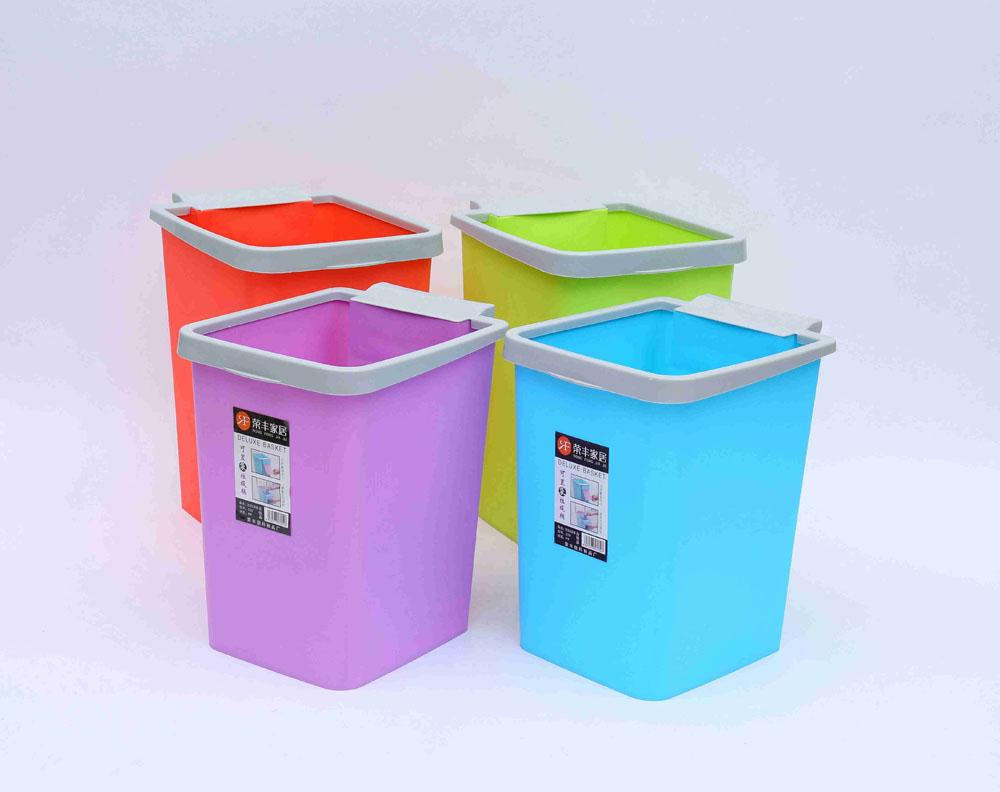 临沂价位合理的塑料垃圾桶批售 盖顶
