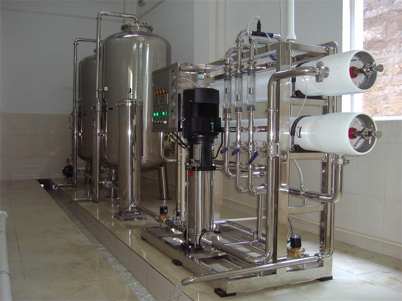精细电子工业用纯净水机器 去离子有机物重金属水处理设备