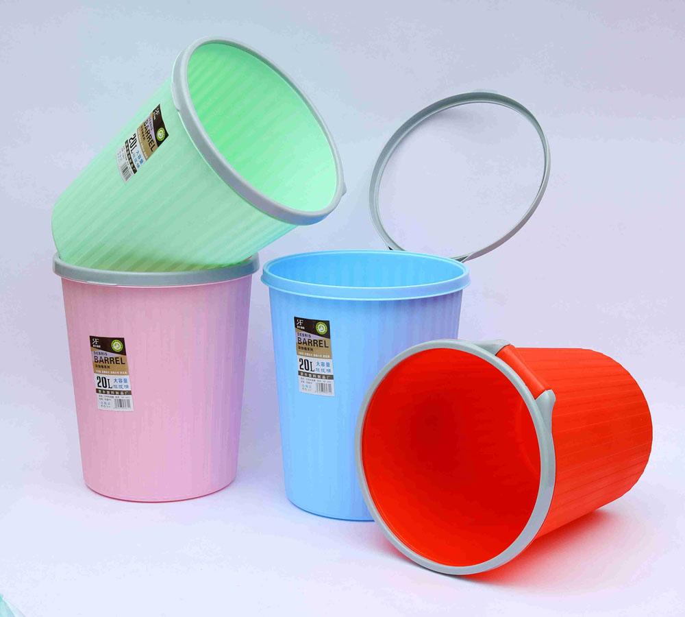 优惠的塑料垃圾桶哪家买|圆形垃圾桶无压圈