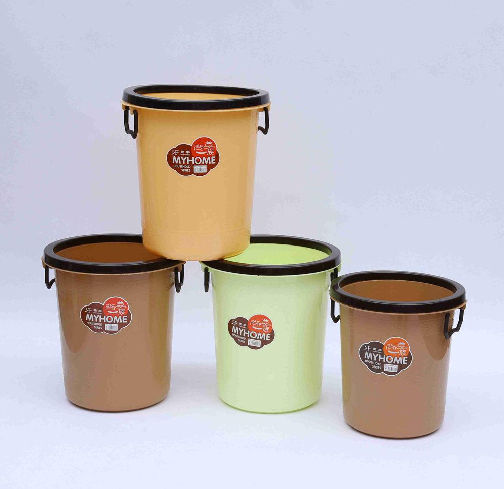 优良家用塑料垃圾桶品牌介绍  -压圈杂用垃圾桶价格行情