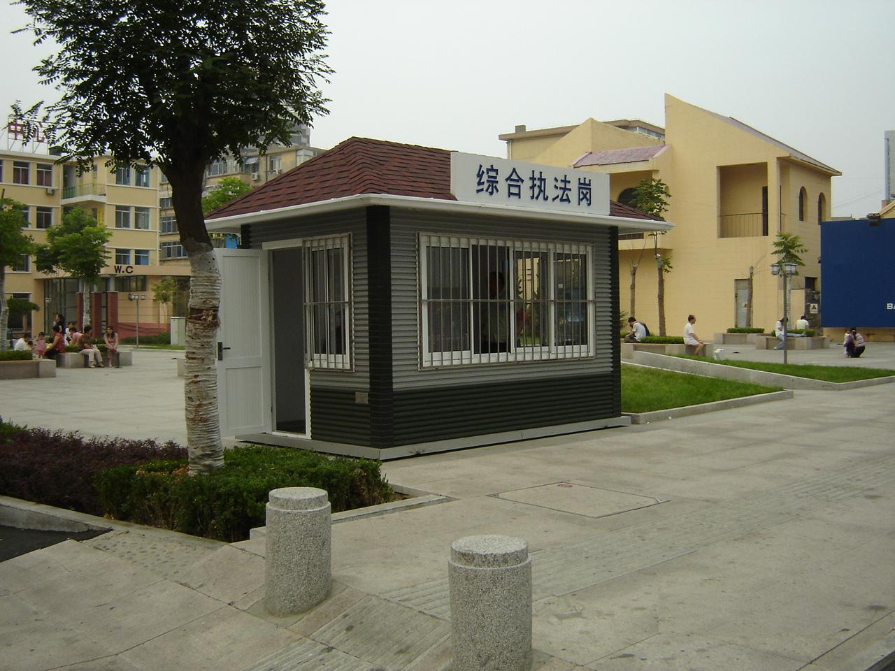 鹤壁岗亭厂家-北京吉瑞环保提供的岗亭好不好