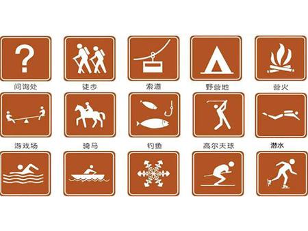 寧夏景區標志安裝_買好的景區標識牌當然是到甘肅國陽交通設施了