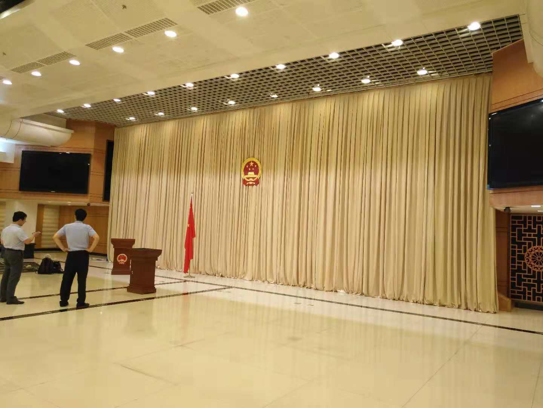 北京舞台幕布安装定制