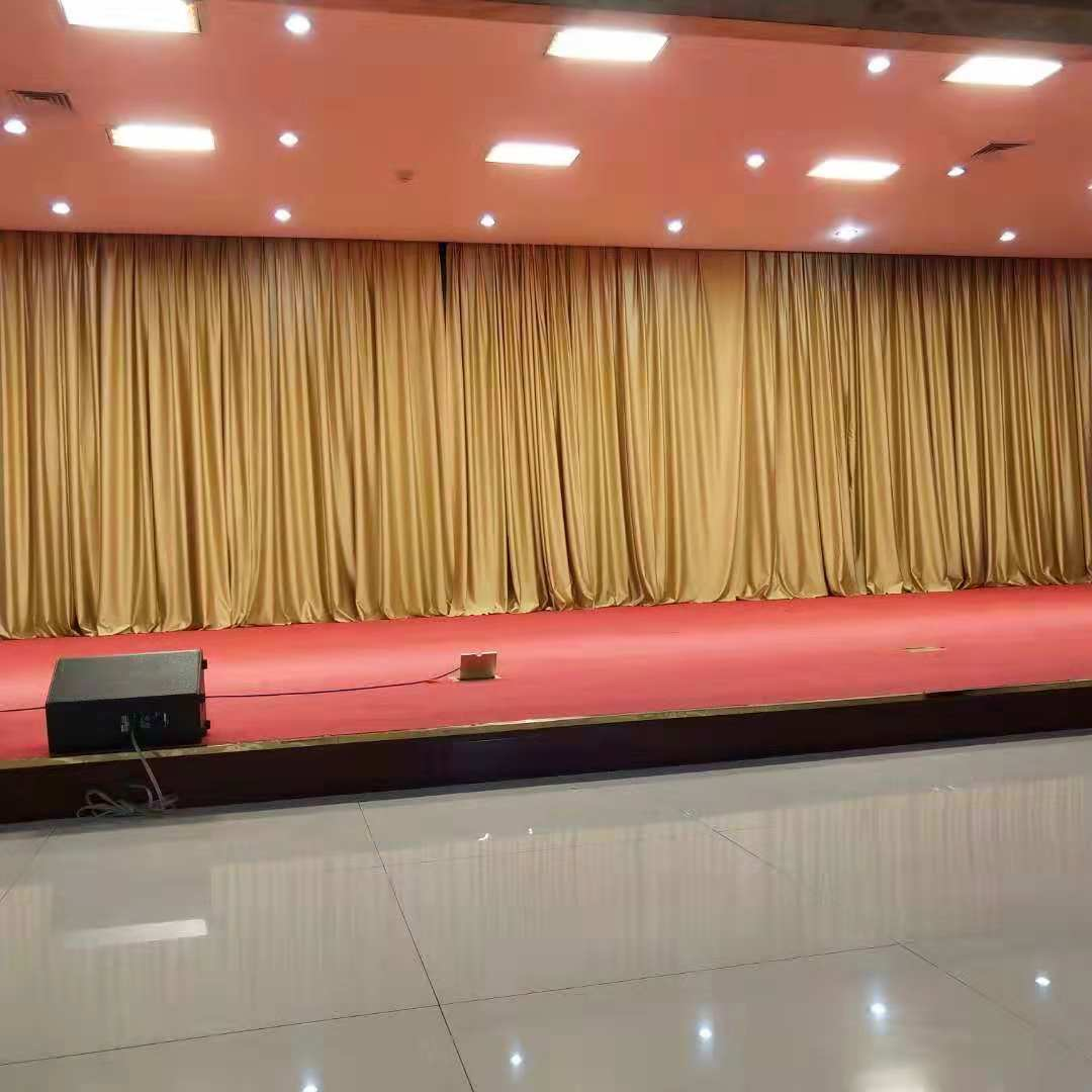 舞台幕布安装 华艺经典提供优良幕布产品