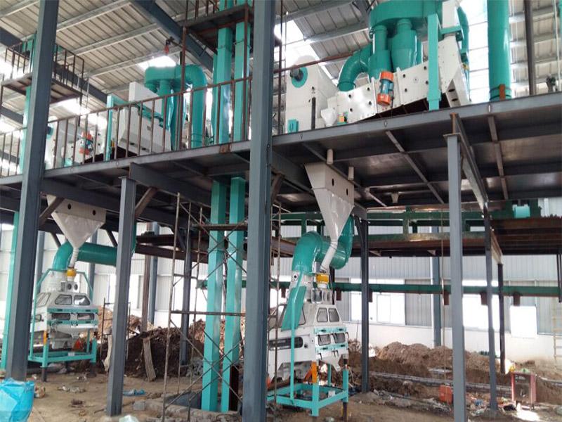 面粉加工設備廠家|漯河哪里有供應價格合理的面粉加工成套設備