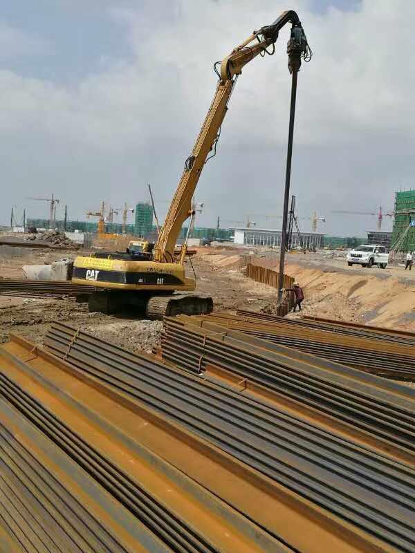 海南钢板桩施工