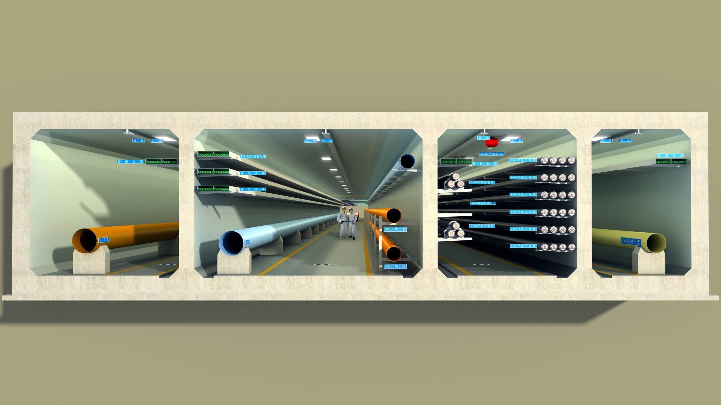 乌鲁木齐管廊报价 高质量的新疆管廊火热供应中