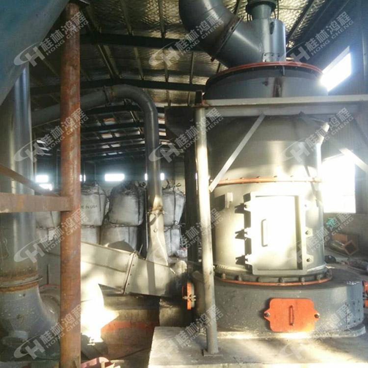 桂林鸿程3R220小型活性炭200目雷蒙磨粉机