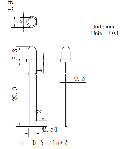 goumai有性jia比的F3红外线发射管dengzhu优xuan台wan台铭光电 报jia合理的LED发光二极管