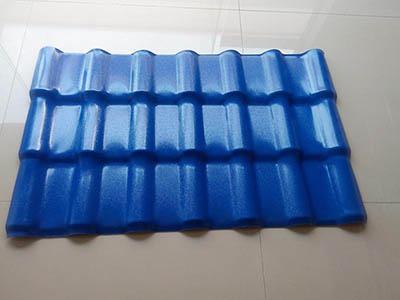 兰州树脂瓦生产厂家 高性价树脂瓦甘肃永保新型建材供应
