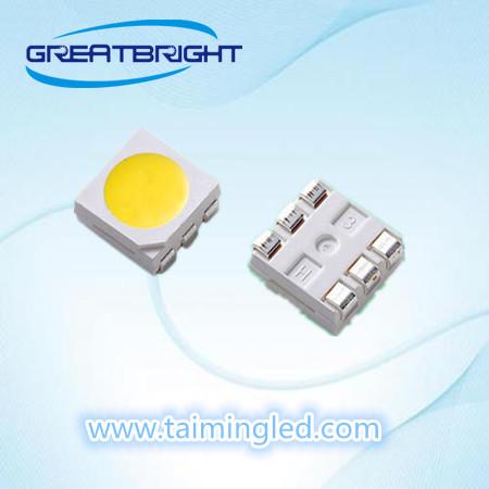 厂家直销5050红光白光蓝光黄光LED灯珠,台湾台铭光电厂家