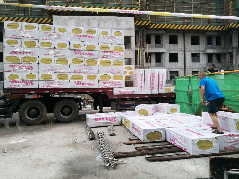 洛克德外墙岩棉板国标出口品质|岩棉板在建筑幕墙里的施工方法