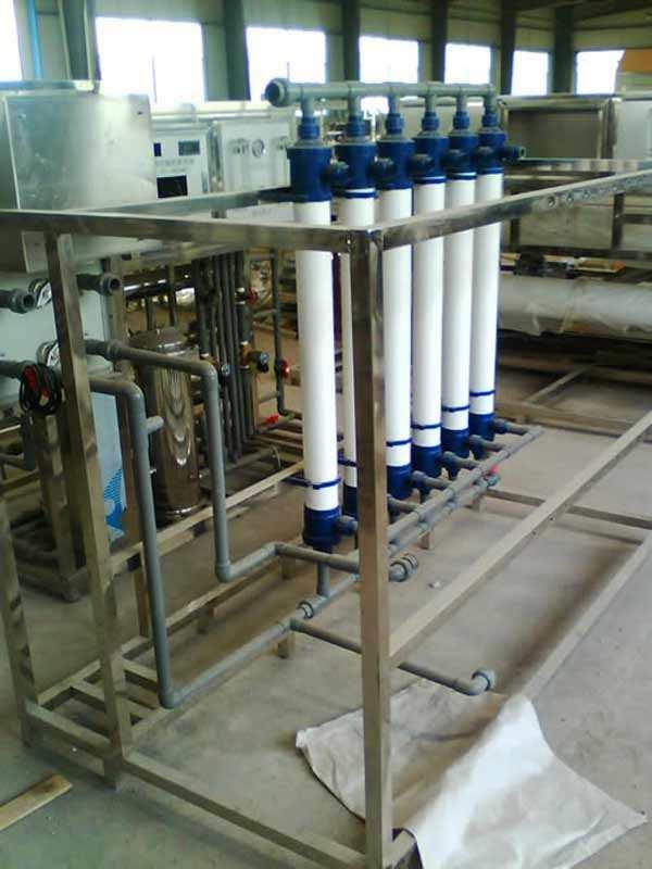 工厂中水回用设备超滤水处理定制请联系18665161107