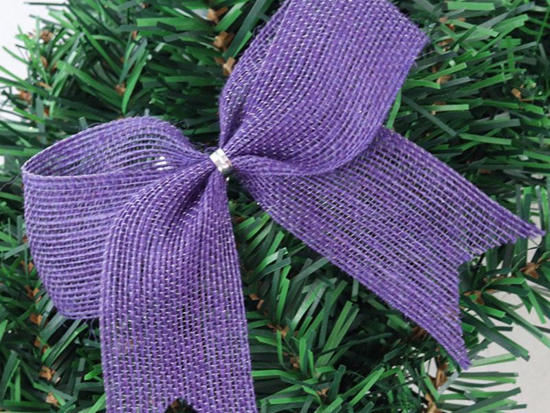 全市质量好的丝带圣诞带 推荐 定做圣诞花仔
