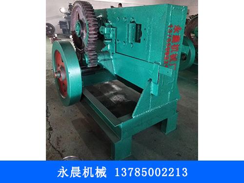 内蒙加工钢板剪块机-永晨机械-新疆厂家报价