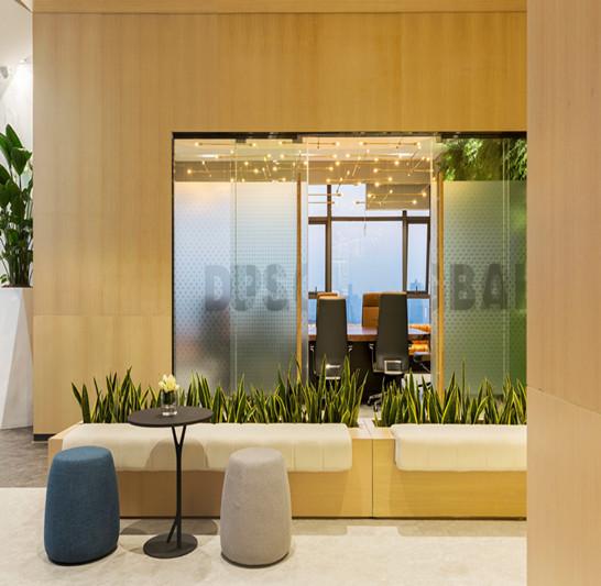 郑州星光映景办公室装修设计 郑州办公楼设计 河南写字楼装修