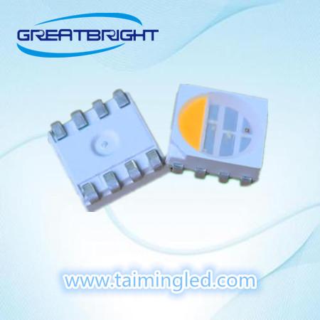 台湾台铭光电提供划算的5050全彩四色LED灯珠 3528白光贴片LED规格