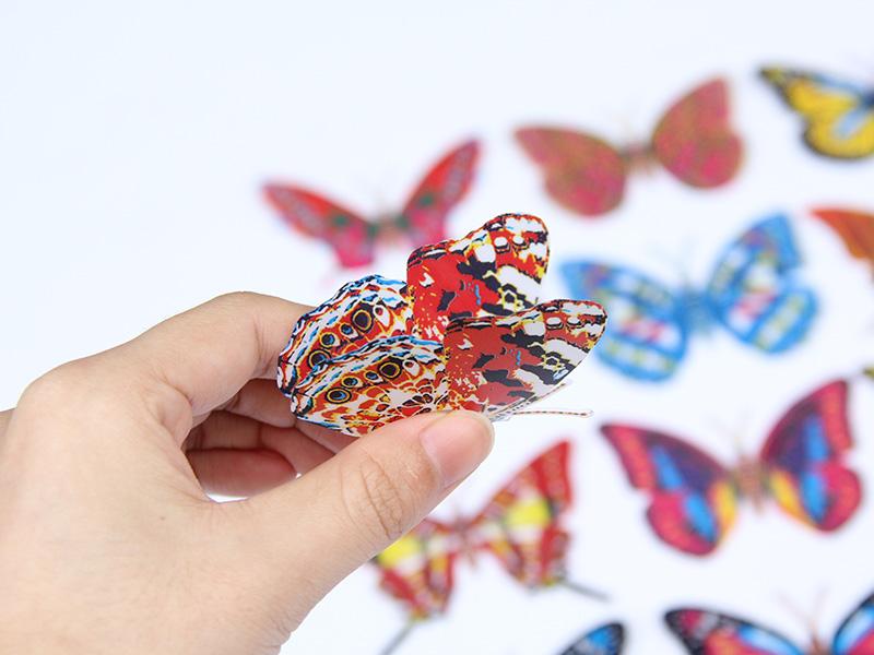温州金蝴蝶工艺品_可靠的连体蝶8公分供应商-倾销仿真蝴蝶