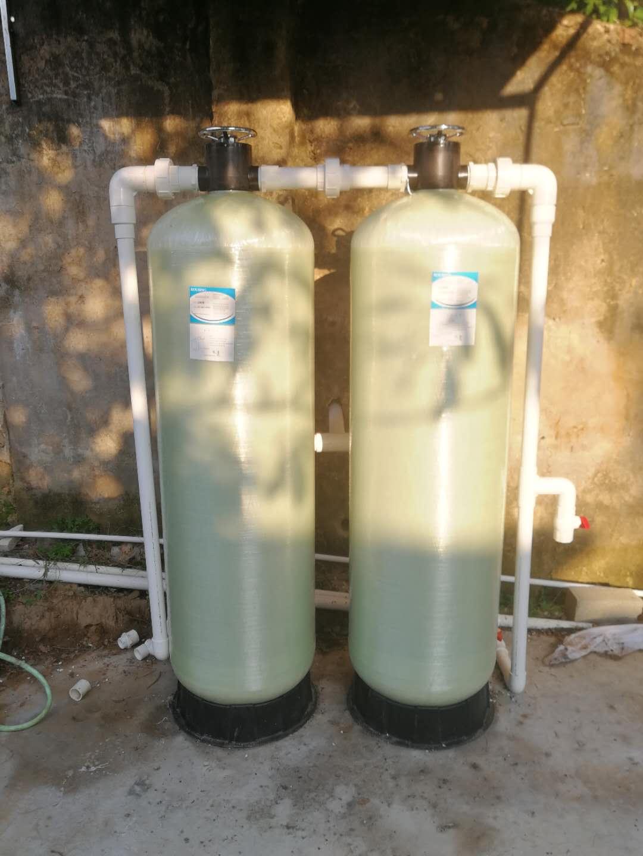 地下水发黄腥味除铁锰过滤器多介质过滤器有效净化水处理设备
