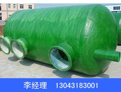 出售河北批发50立方玻璃钢缠绕化粪池——50立方玻璃钢缠绕化粪池