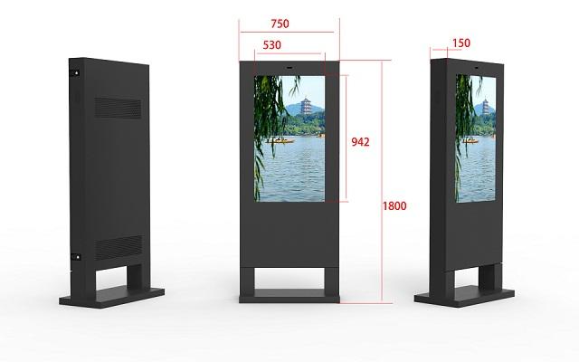好用的戶外露天觸摸屏廣告一體機優選蘇州凱士卡智能科技_大尺寸戶外露天觸摸屏廣告一體機性能指標