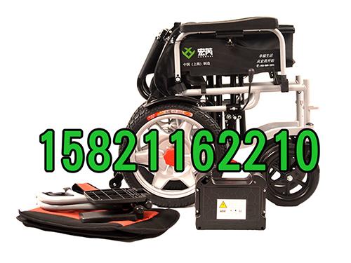 上海造的好用电动轮椅 宏芮老年代步车 四轮智能电动轮椅 厂家