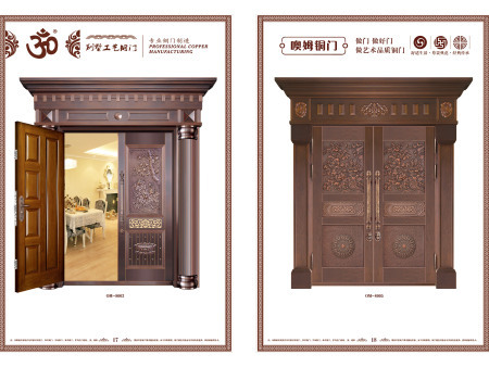 沈陽地區品質好的仿銅門-仿銅門廠家