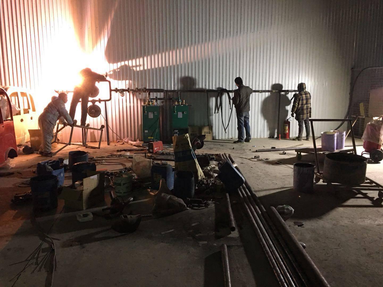临沂专业的燃烧机_厂家直销——临沂汽化器安装
