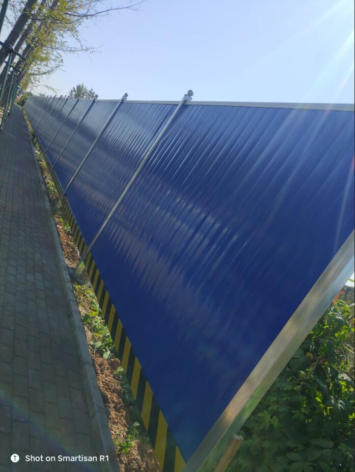 洛阳今创建材的施工围挡报价,北京施工围挡