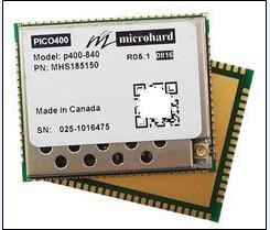Microhard P400-840模块840M数传 无人机