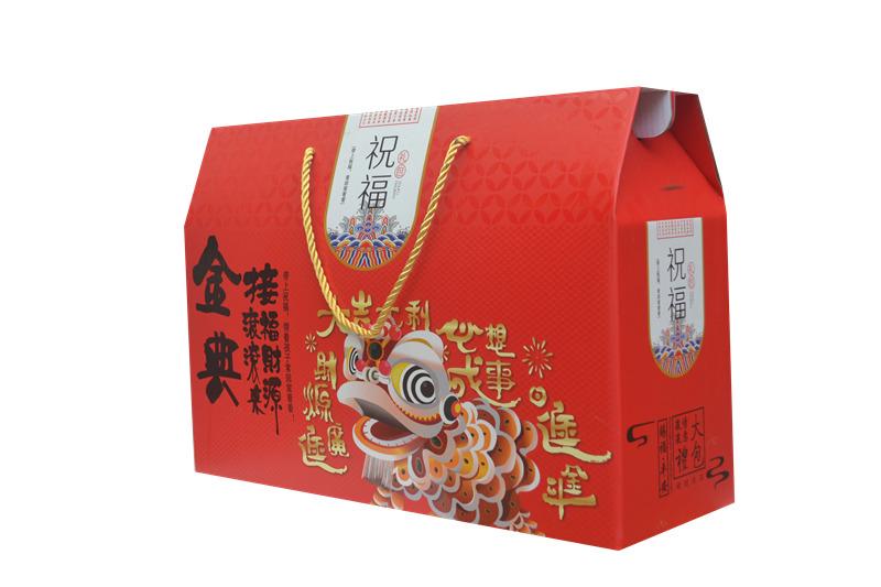 山东高质量干果礼盒包装_坚果礼盒生产厂家