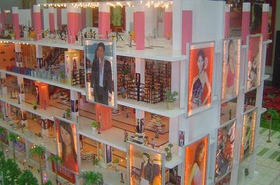 南宁大型商场模型,商场规划模型