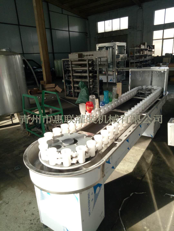 冲控一体机 冲瓶机玻璃瓶冲瓶酒瓶洗瓶机回转式冲控机洗瓶机
