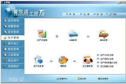 郑州安全可靠的管家婆工贸版推荐_生产管理系统报价
