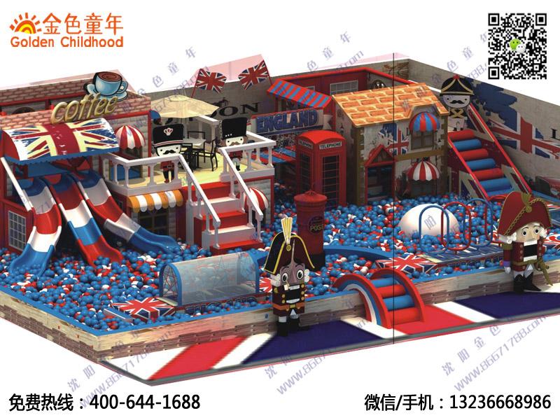 大沖關淘氣堡兒童樂園兒童游樂項目商場室內設備室內小型兒童游樂